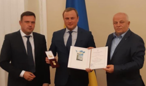"Yuriy Luchechko: ""Award from the Cabinet of Ministers of Ukraine is achievement of all of our team""."