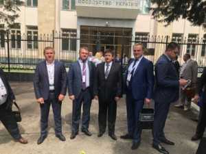 "Acting Director of SOE ""UKRSPYRT"", Yuriy Luchechko, paid a working visit to the Republic of Uzbekistan with Ukrainian delegation."