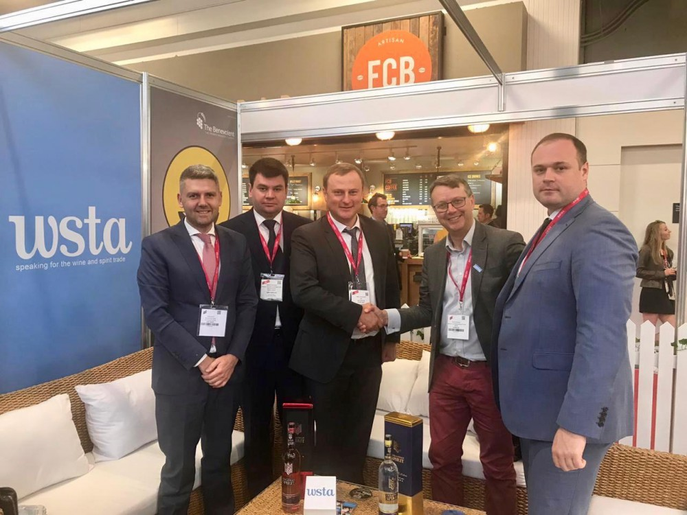"SOE ""UKRSPYRT"", jointly with the editorial staff of Drinks magazine of the alcohol drinks market, took part and presented a stand at the 39th International Fair London Wine Fair 2019."